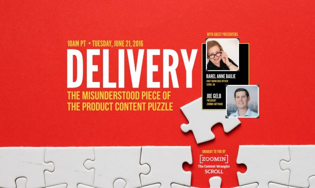 Content Delivery: The Misunderstood Piece of the Product Content Puzzle