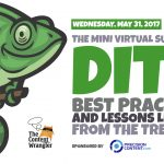 [May 31] DITA Summit: Best Practices and Lessons Learned From The Trenches