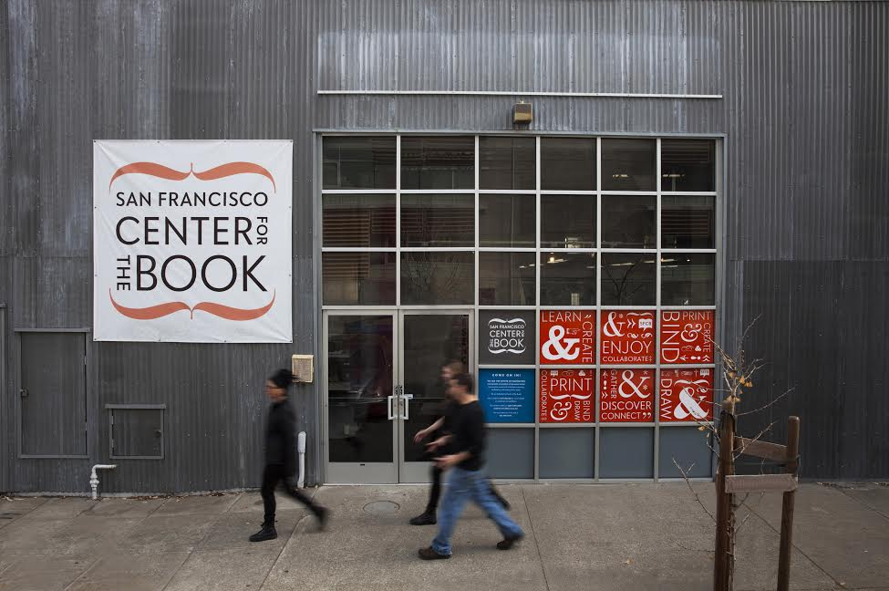 Fancy San Francisco Center for the Book Old School Print Mint The Content Wrangler