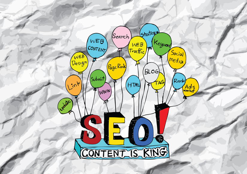 Image: SEO Content is King