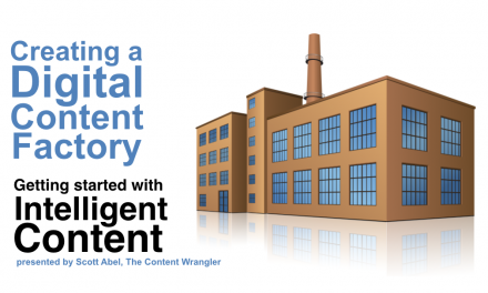 Creating a Digital Content Factory: Getting Started with Intelligent Content