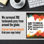 The 2016 Technical Communication Benchmarking Survey