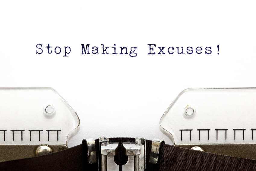 Image: Stop Making Excuses