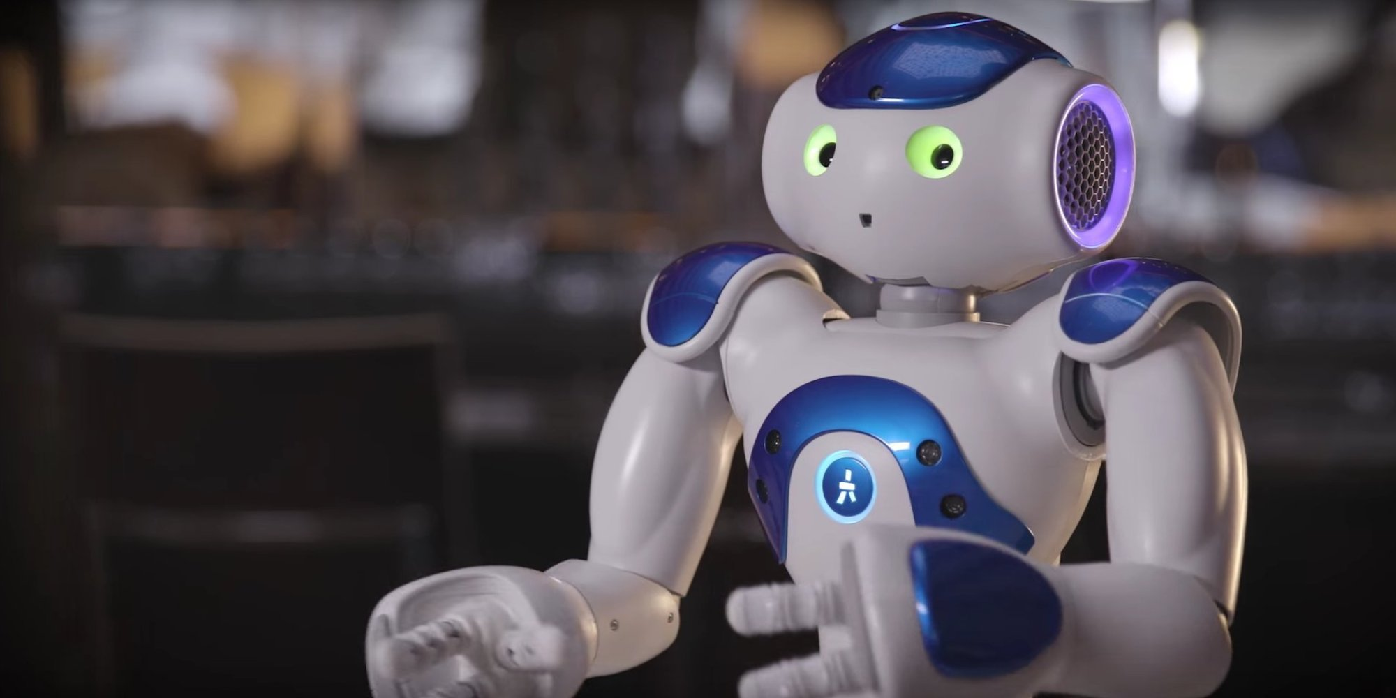Image: Connie, IBM Watson-enabled robot
