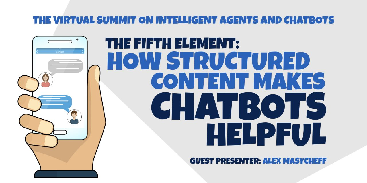 How Structured Content Makes Chatbots Helpful