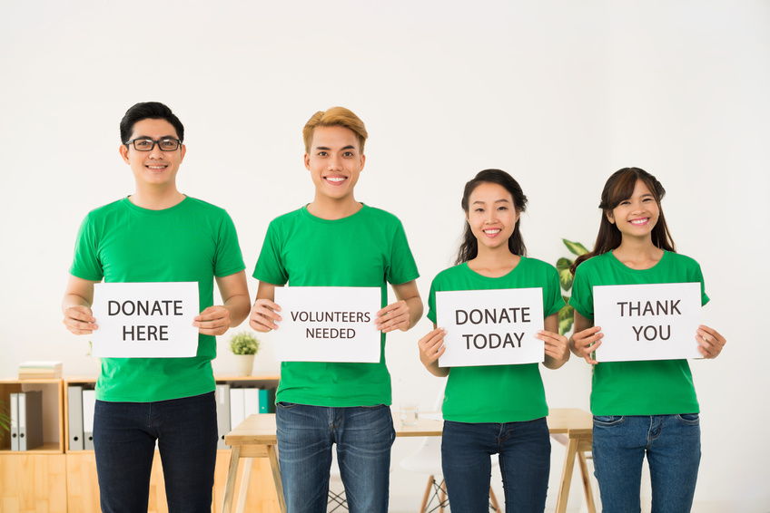 Image: Donate or volunteer today.
