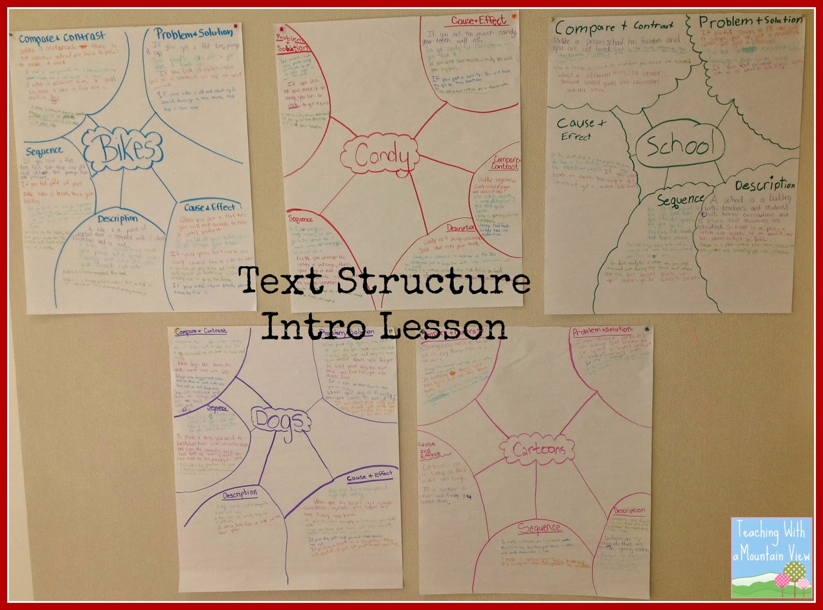 Image: Informational Text Structure Introductory Lesson