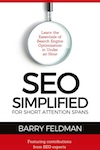 "Image"" Book cover: SEO Simplified for Short Attention Spans"