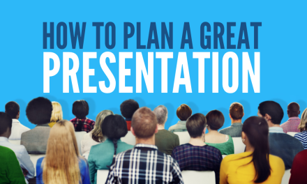 [Video] How To Plan A Great Presentation