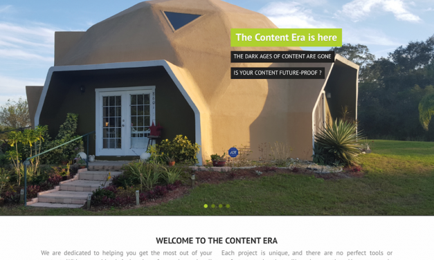 The Content Era's New Website: DITA to HTML5